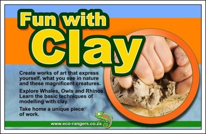 Closer to Nature with Clay – holiday fun for kids and parents