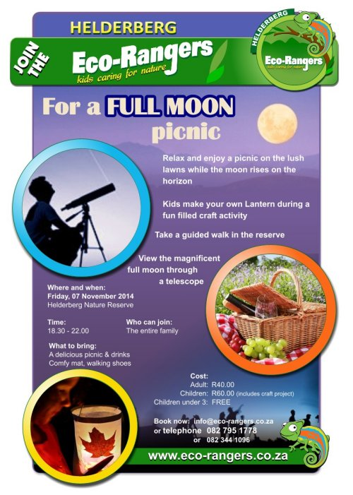 Full Moon Picnic Fundraiser