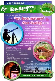 'We love Nature' Valentines Star gazing picnic Fund Raiser