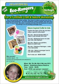 Nature & Craft Holiday program for kids age 6-15 years