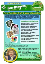 Nature & Craft Holiday program for kids age 3-6 years